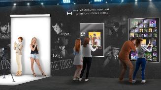 Cinema digital photo studio