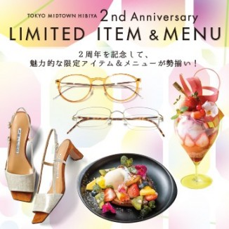 2nd Anniversary LIMITED ITEM & MENU