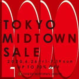 TOKYO MIDTOWN SALE