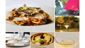"""Asakusa civilization tower """"pasta FRESCA to add water to low"""" lunch course"""