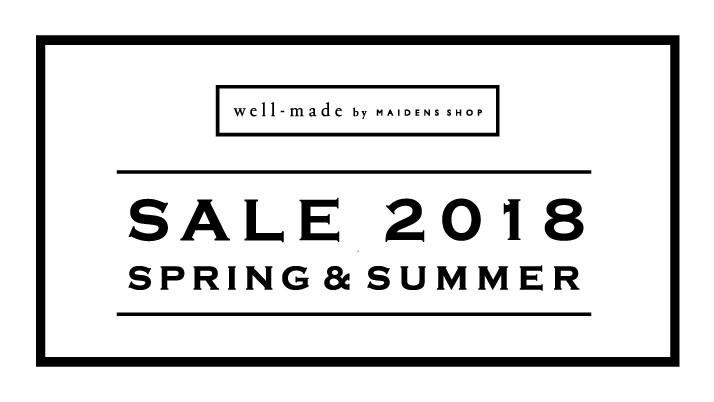 well-made by MAIDENS SHOP 2018 Summer Sale