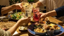 """Meal course renewal with """"one angle"""" of bar all-you-can-drink!"""
