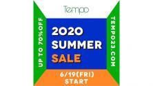 Tempo SUMMER SALE